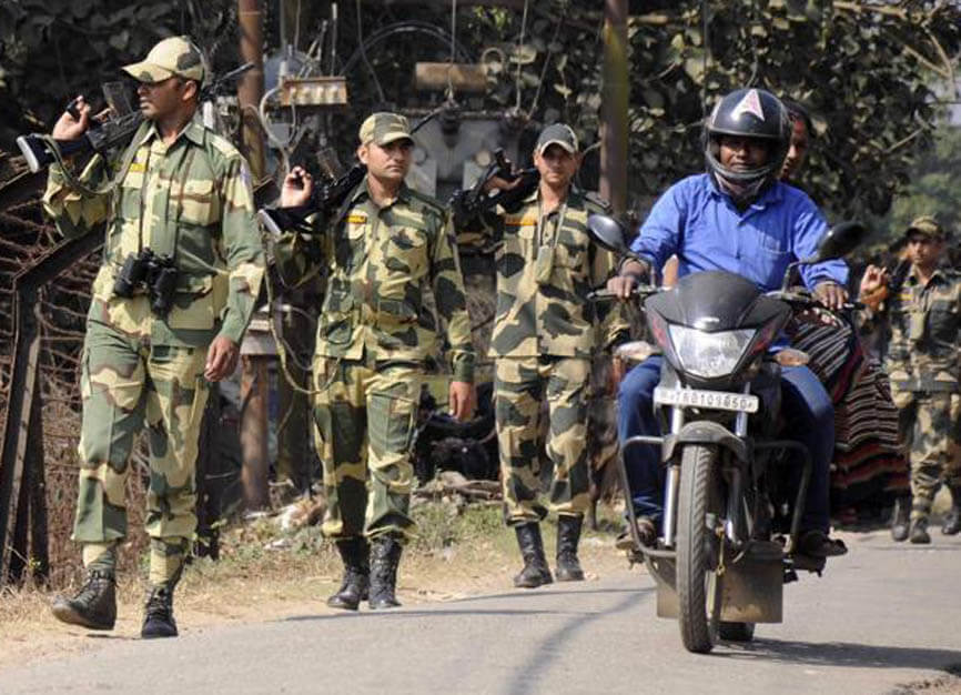 Multi-tier security cover for deferred Tripura polls