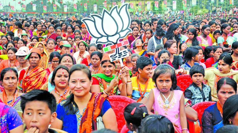 Campaigning for the East Tripura Lok Sabha constituency concludes on Sunday