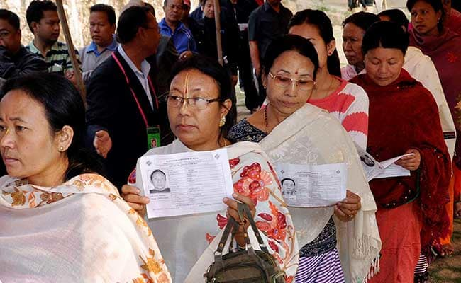 Manipur Outer Lok Sabha seat records over 75% voter turnout