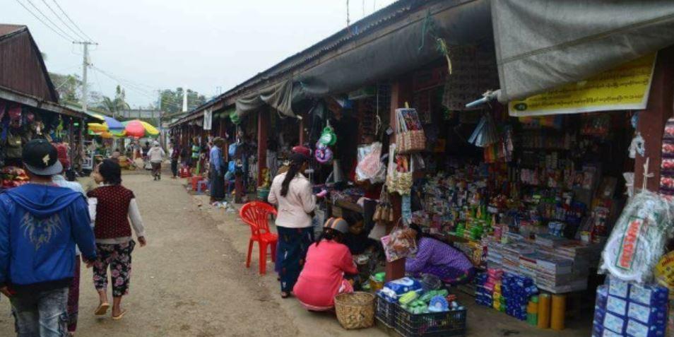 Myanmar closes International market Namphalong