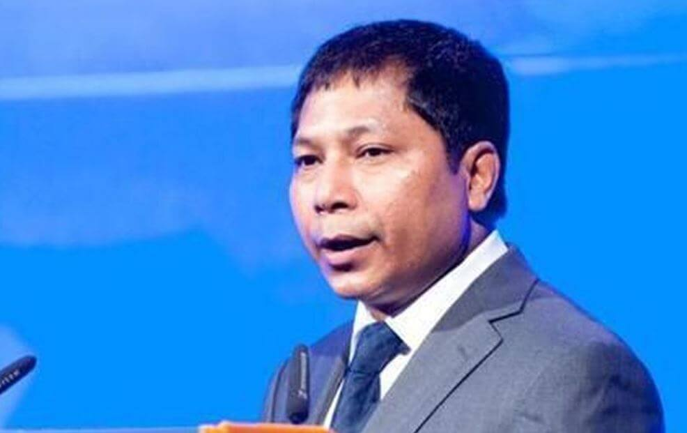 Mukul Sangma campaigns in Tura to garner support for the upcoming MP election