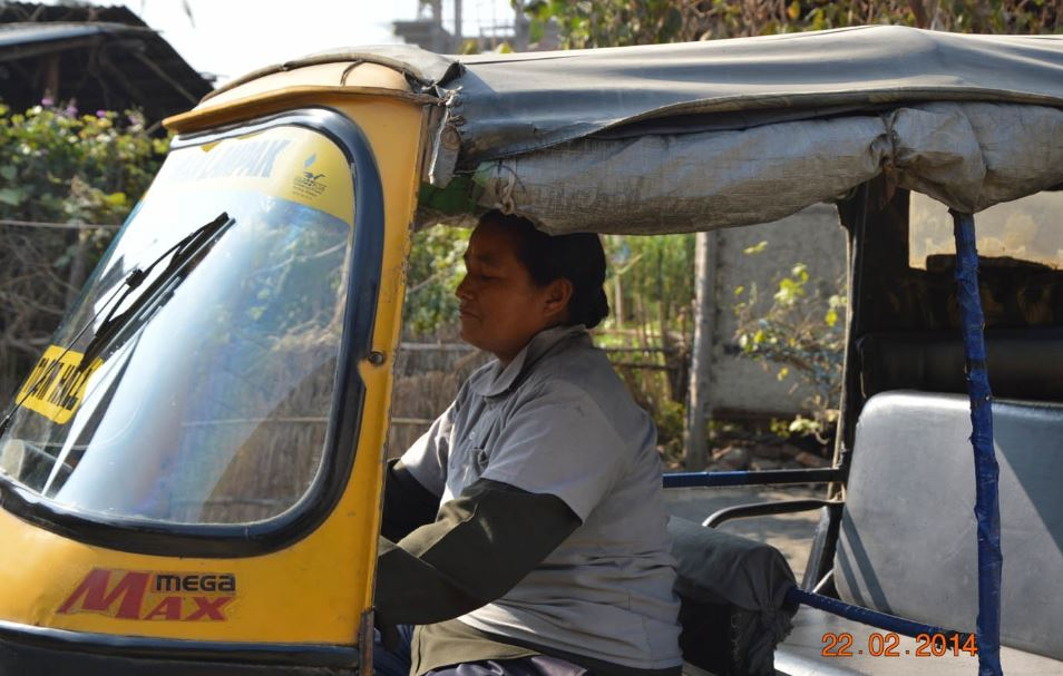 Manipuri woman Laibi Oinam autodriver's life is now a film