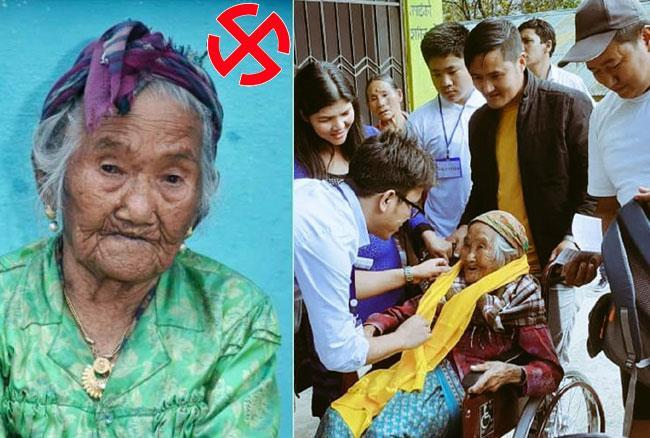 107-year-old woman Sumitra Rai casts vote in Sikkim