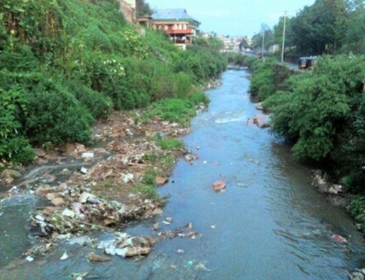 "Shillong ""Clean River Umkhrah Mission"" a damp squib"