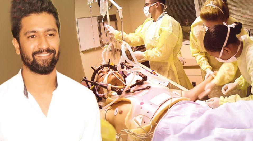 Actor Vicky Kaushal injured during film shoot