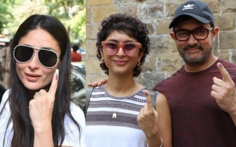 Lok Sabha Elections: Film Stars Vote With Pride, Show Off Inked Finger