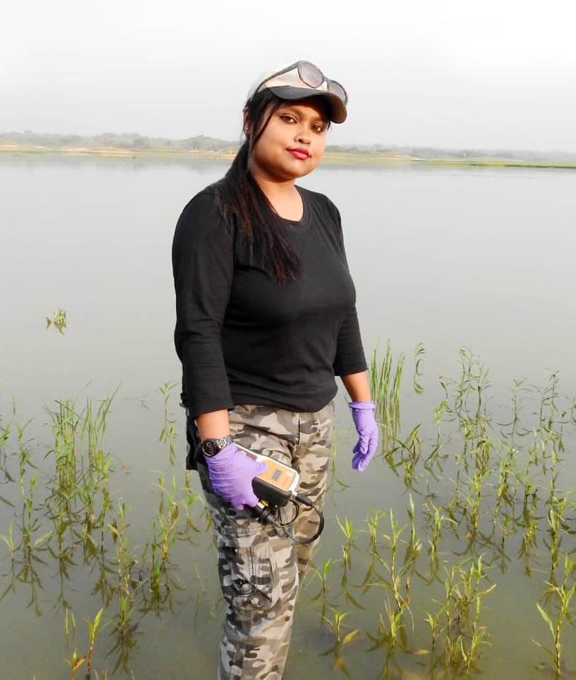 Priyanka Sarkar of Bongaigaon of Assam selected 2019 Wetland Ambassador