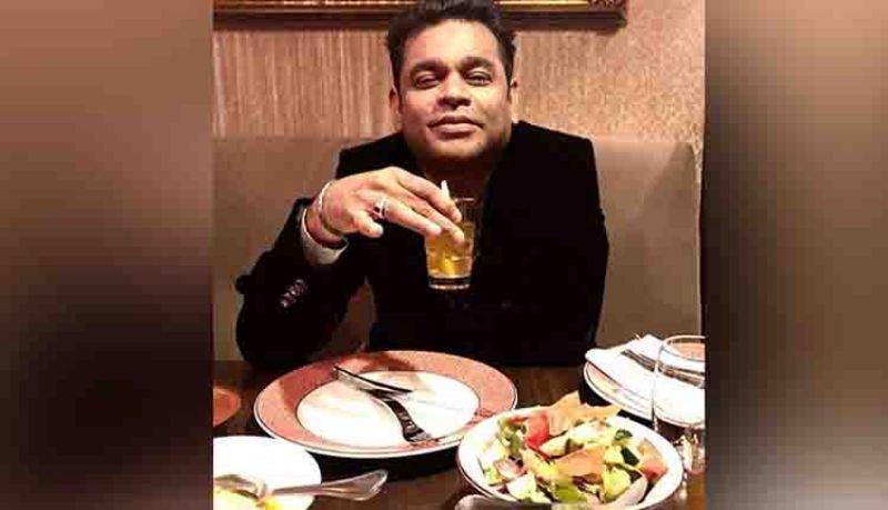 AR Rahman Has Iftar Dinner At Cannes