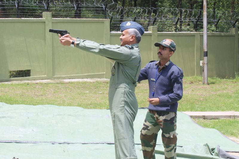 Eastern Air Command AOC RD Mathur Visits Laitkor Air Force Station