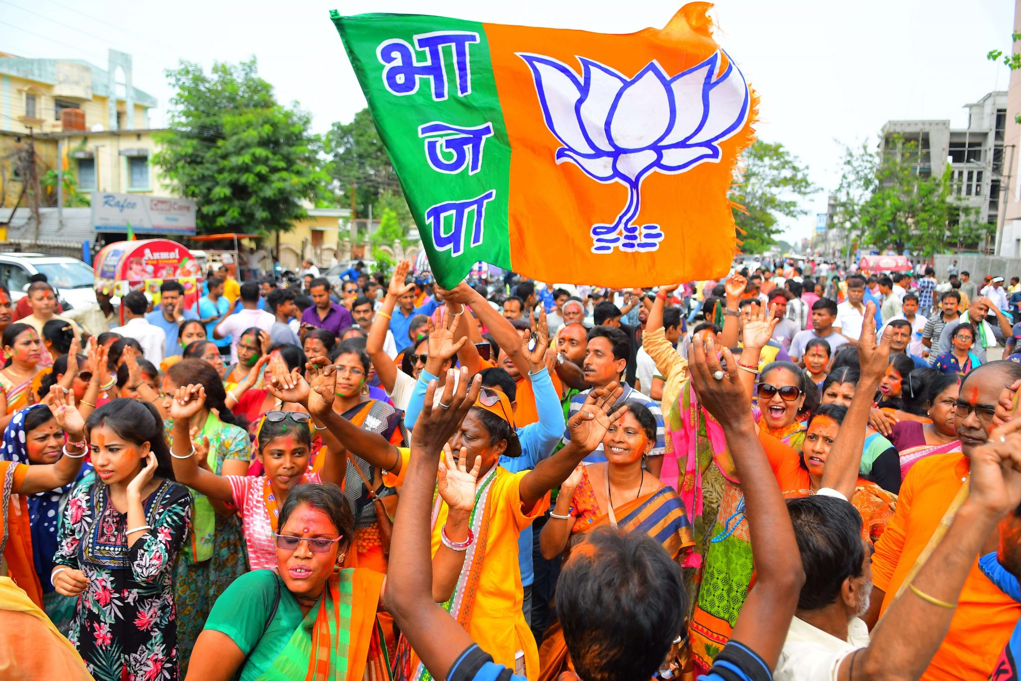 In a first, BJP set to win Tripura's 2 Lok Sabha seats