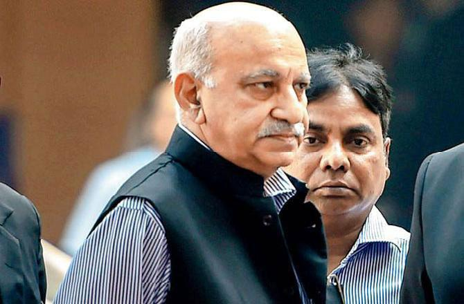 Former Union Minister Akbar Denies Meeting Priya Ramani At Oberoi Hotel