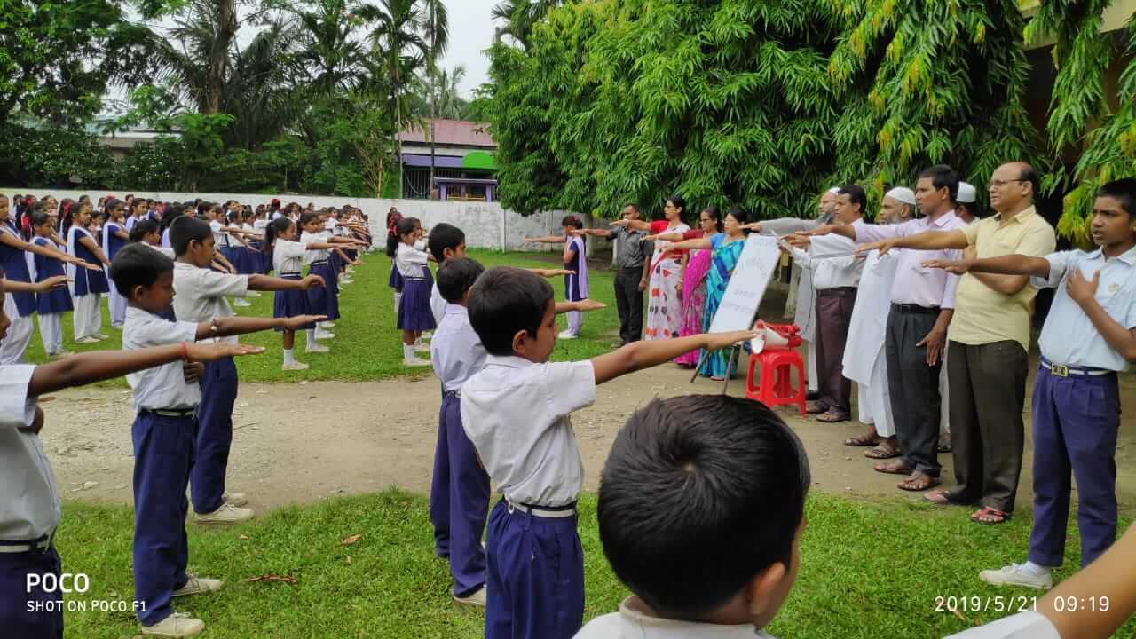Anti-Terrorism Day observed in Hailakandi schools