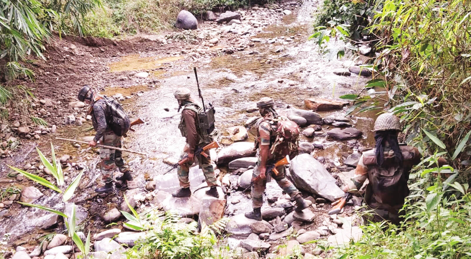 Massive combing operation launched by security forces to nab NSCN ultras who gunned down MLA Tirong Aboh