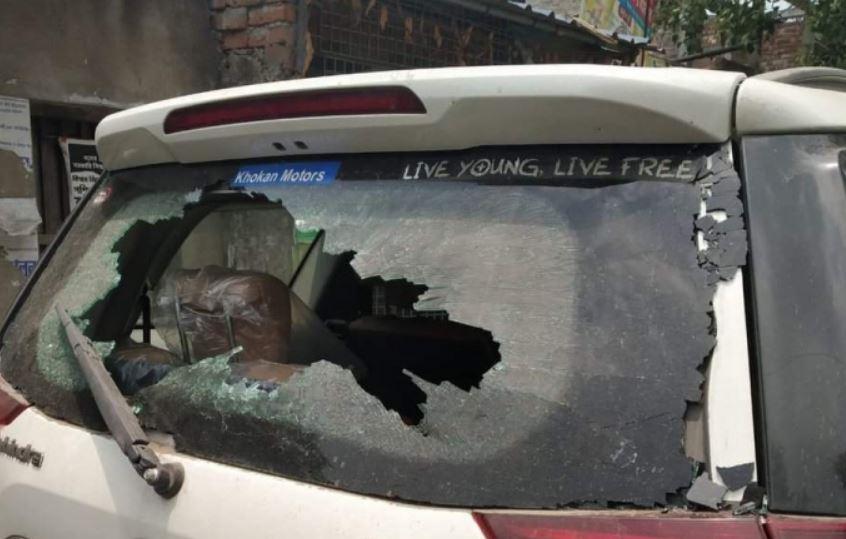 Bengal: Diamond Harbour BJP Candidate Nilanjan Roy's Car Vandalized