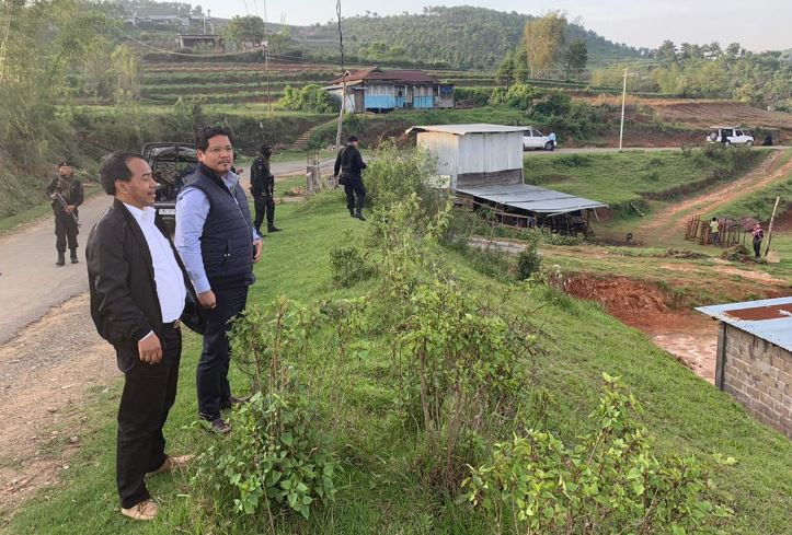 Meghalaya CM Conrad K Sangma Inspects Mawmaram-Lad Umsaw Road