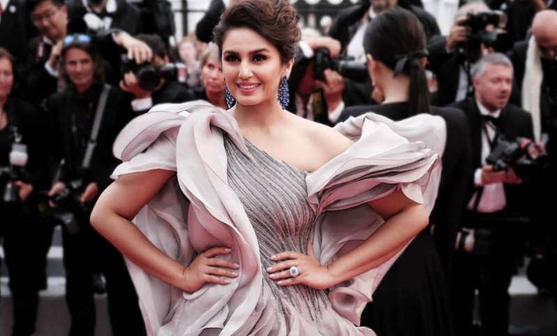 Huma Qureshi Stuns In A Beautiful Flowing Gown At Cannes Film Festival 2019
