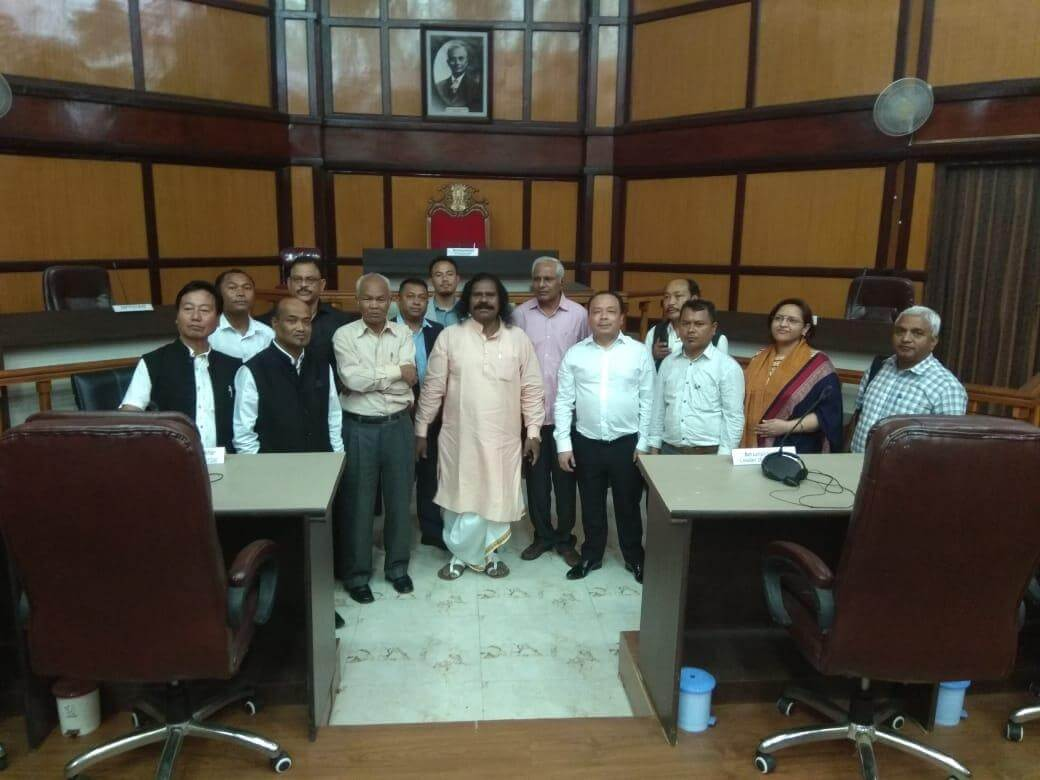 Three Autonomous District Councils of Meghalaya urges the National Commission to bar government from meddling