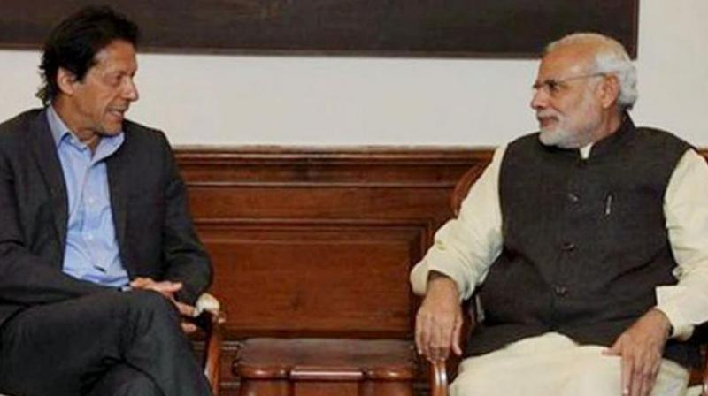 China Welcomes Imran Khan, Narendra Modi Exchanging Pleasantries