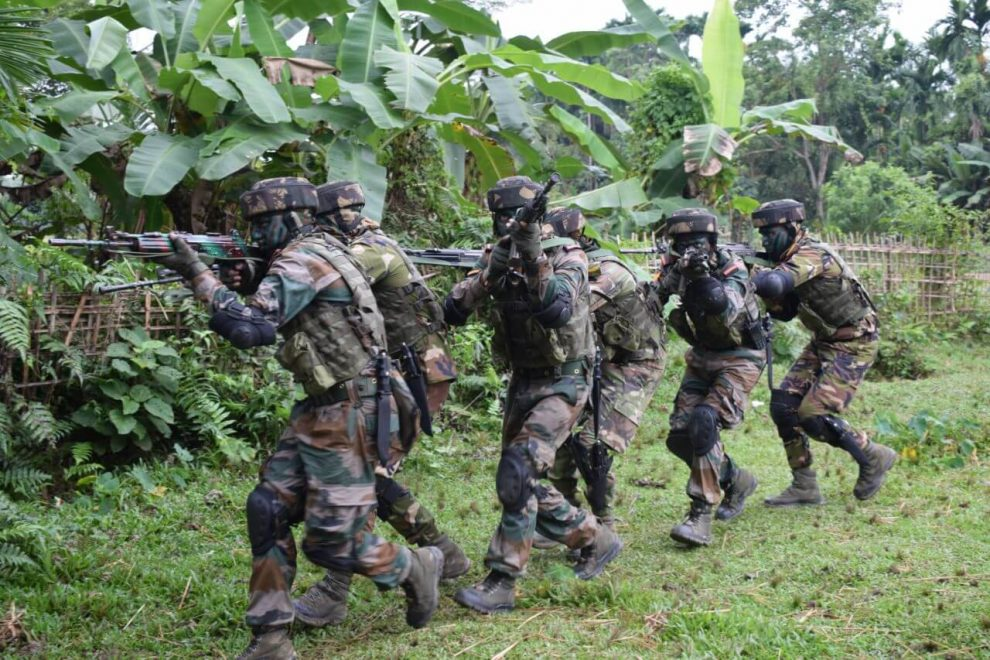 Counter Insurgency & Jungle Warfare School