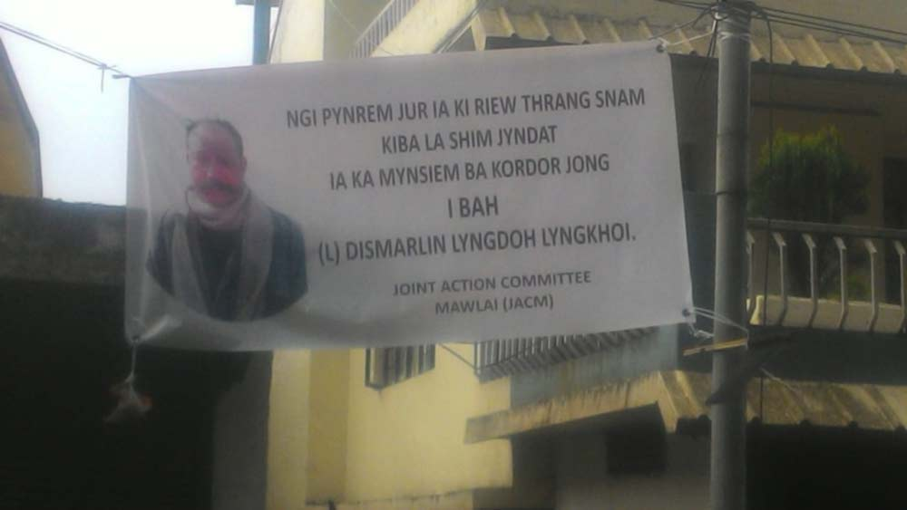 Job demand raised for kin of murdered Home Guard Dismarlin Lyngdoh Lyngkhoi on compassionate ground