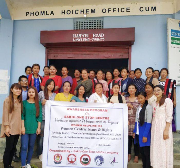 Programme on Sakhi-one stop centre held at Longleng