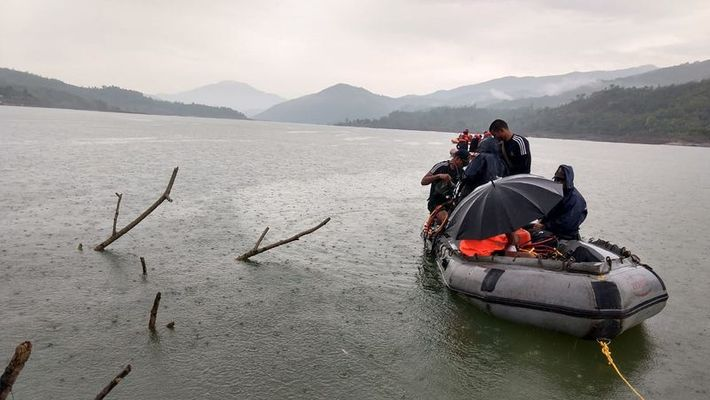 Navy team to search missing people in Imphal boat capsizing incident