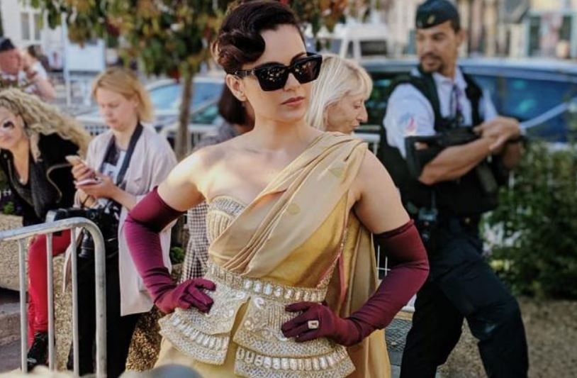 Cannes Diary: Kangana Ranaut Visits The Indian Pavilion At Cannes