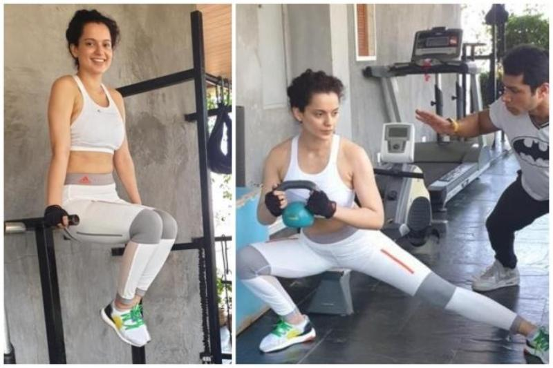 Kangana Ranaut Works Out Hard For Her Cannes Look