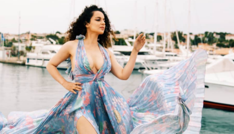 Kangana Ranaut Sets Temperatures Soaring In A Floral Ralph & Russo Maxi At Cannes Film Festival 2019