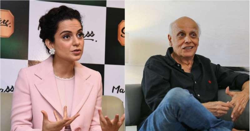 """Kangana Ranaut, Alia Bhatt Row: Mahesh Bhatt Refuses Comment, Calls Kangana """"Bachchi"""""""
