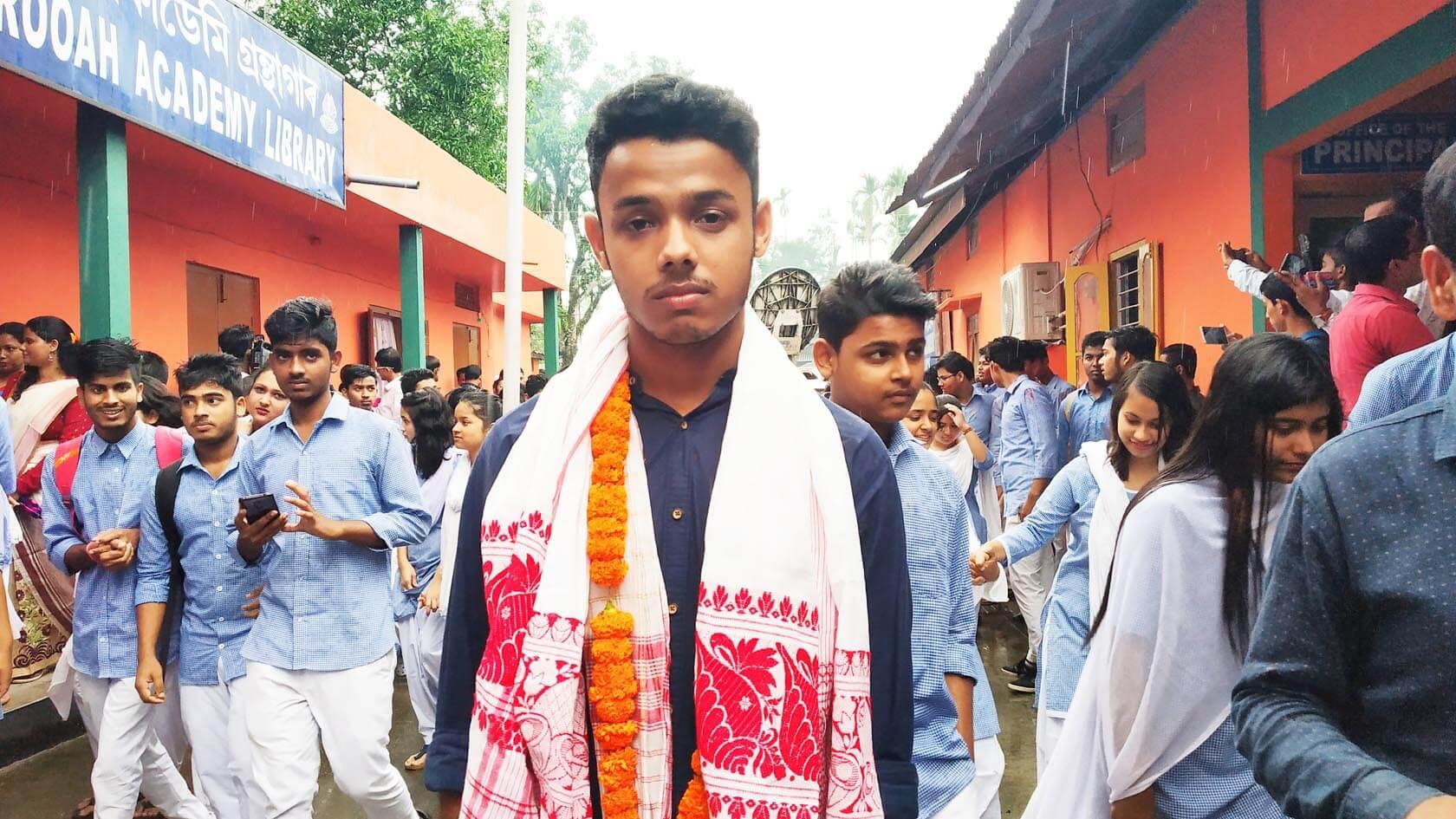 One from Pathsala Anundoram Borooah Academy College, Abhilesh Thakuriya among rank holders