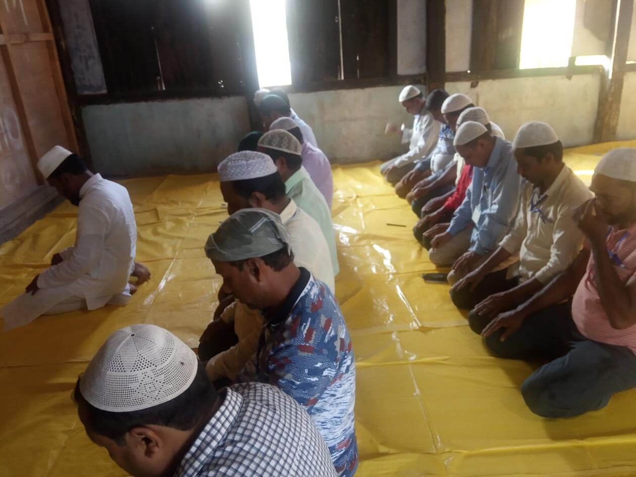 Prayer hall, iftar arranged for Muslims engaged in election duty by the Hailakandi district administration