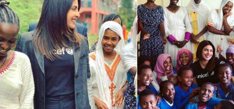 Priyanka Chopra Spends Time With Refugee Children In Ethiopia