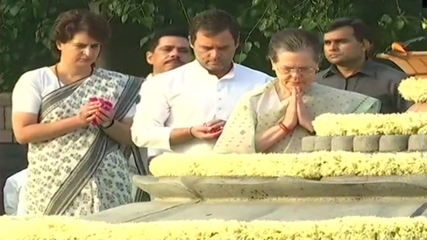 Narendra Modi Pays Tribute to Ex-PM Rajiv Gandhi On His Death Anniversary