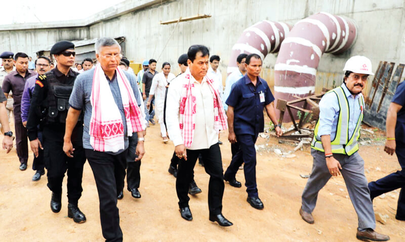 CM Sarbananda Sonowal: Commission First Phase of Water Project By October