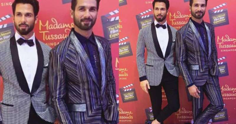 As Shahid Kapoor Unveils His Madame Tussauds Wax Figure, Fans Remain Guessing Which One Is The Real Sasha
