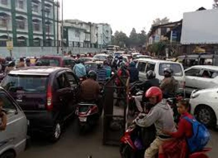 Increase in vehicles in East Khasi Hills district alone adds to Shillong traffic woes