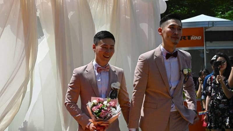 Taiwan Holds First Same-Sex Marriages In Asia