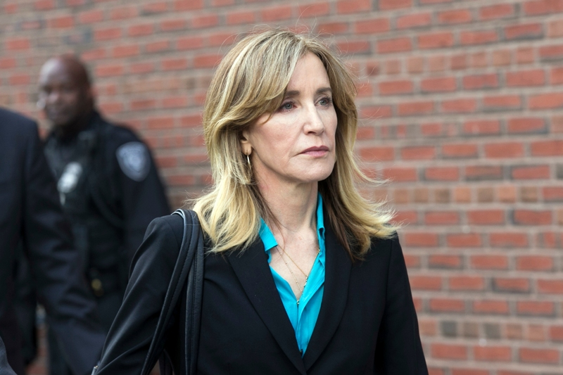 US Actress Felicity Huffman Pleads Guilty In College Admissions Scandal