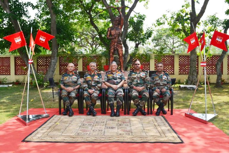 Chief of Army Staff visits Brahmastra Corps at Panagarh in