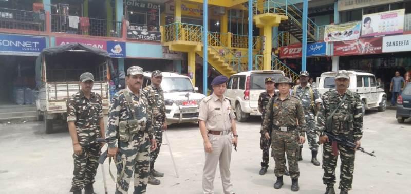 Itanagar SP T Ammo Assures Businessmen of Security