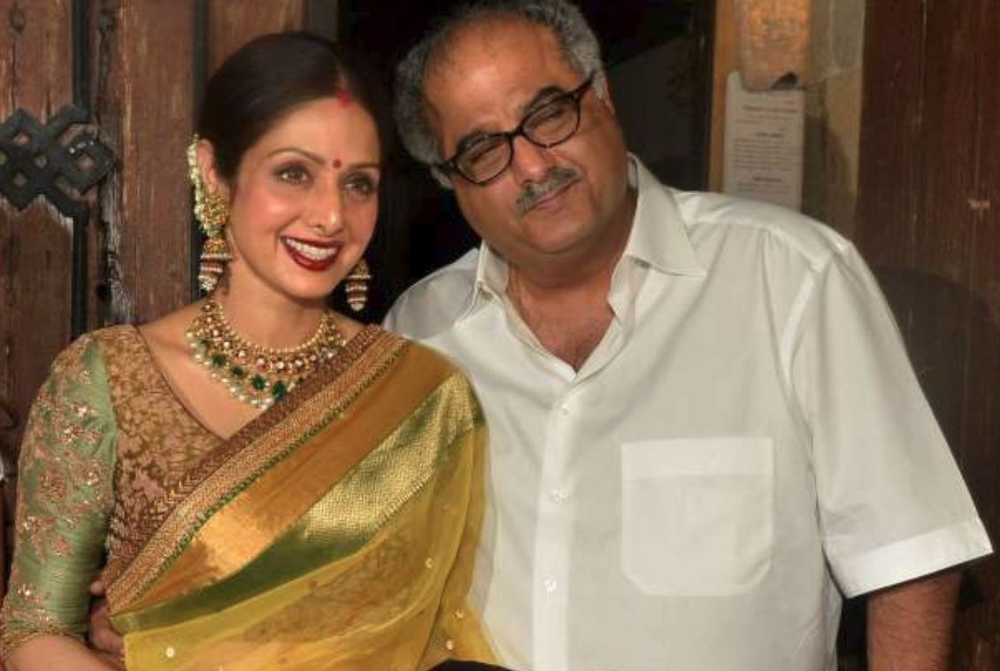 Boney Kapoor breaks down while talking about Sridevi