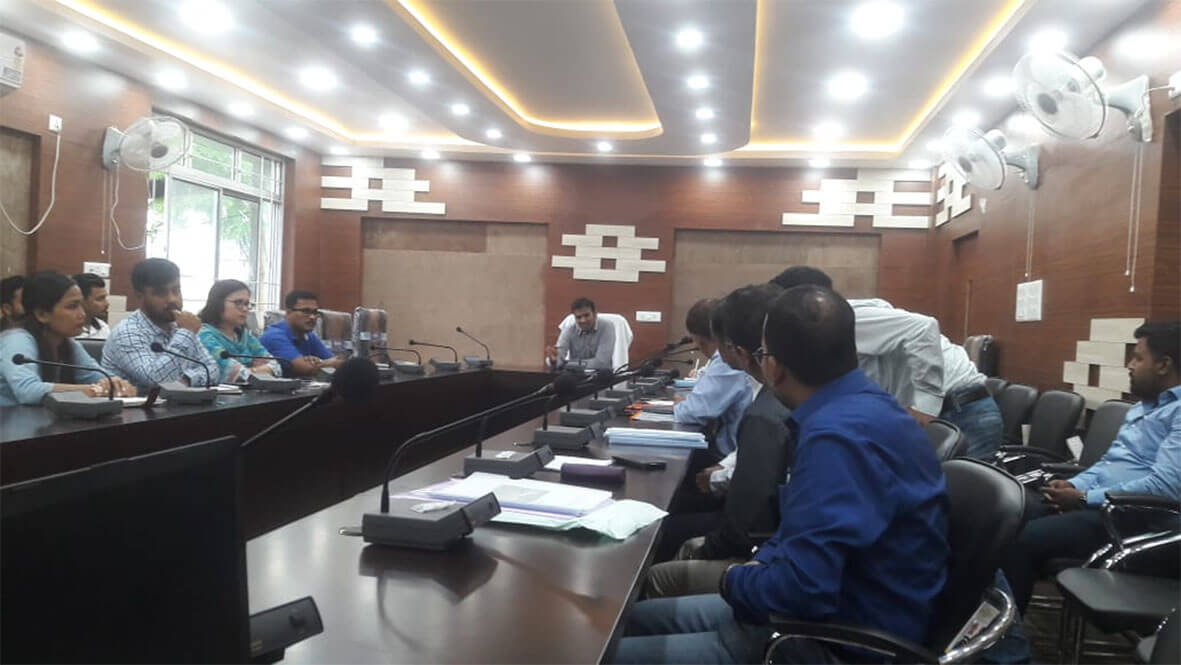 DC of Lakhimpur, Dr. Jeevan B notified shelter centre for homeless people, migrant labourers