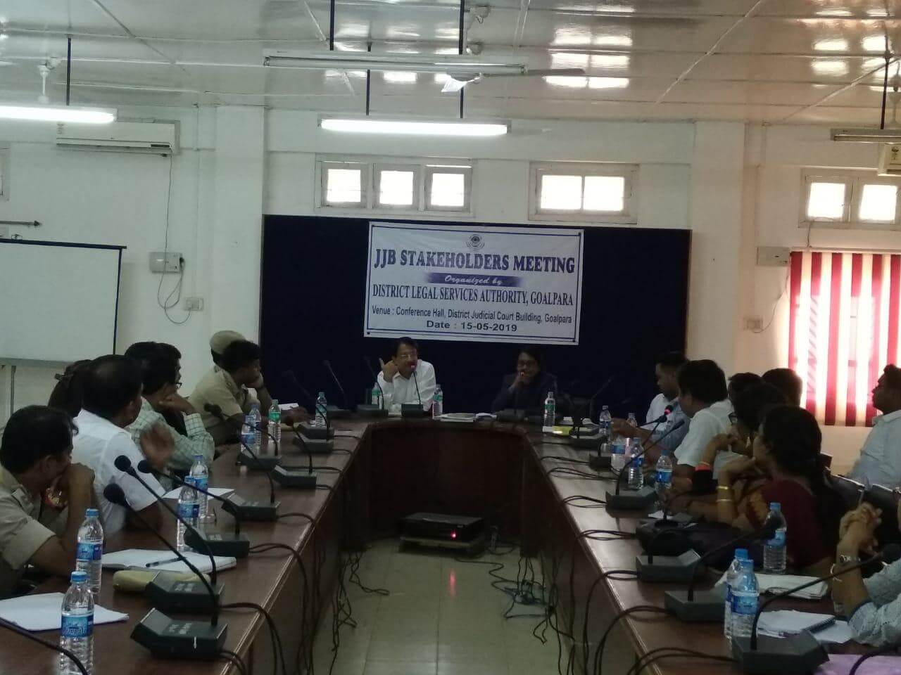 'Every child entitled to get free and competent legal aid' says District Legal Services Authority chairman in Goalpara