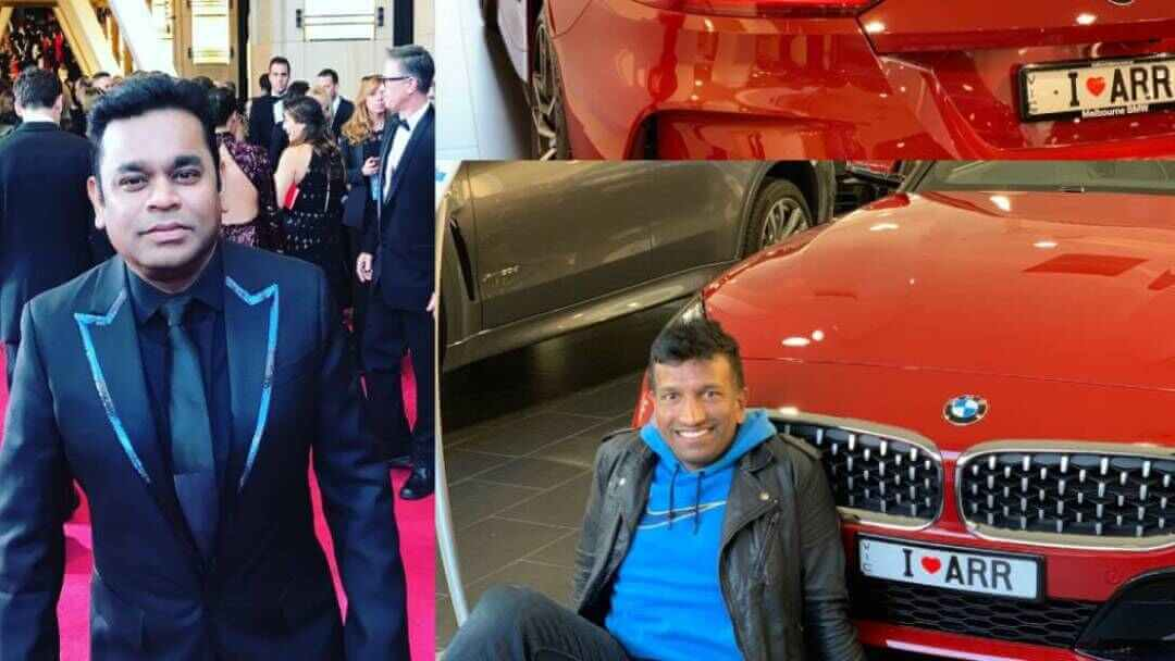 A.R. Rahman's Fan Dedicates His 'Dream Car' To Music Maestro