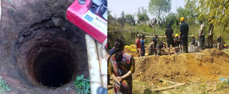 Three Labourers drowned inside 60 ft deep well in Ri-Bhois Mawdiangdiang