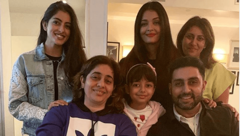 See Pics: Famjam of Aishwarya Rai, Abhishek Bachchan And Navya Nanda At New York