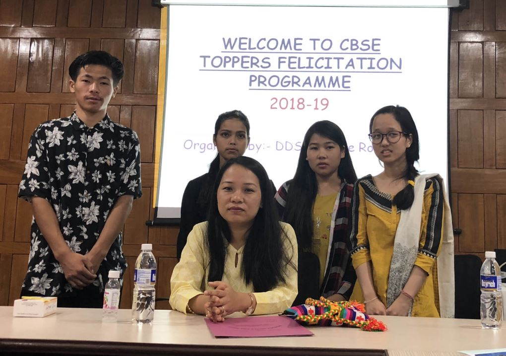 Lower Dibang Valley Toppers Felicitate