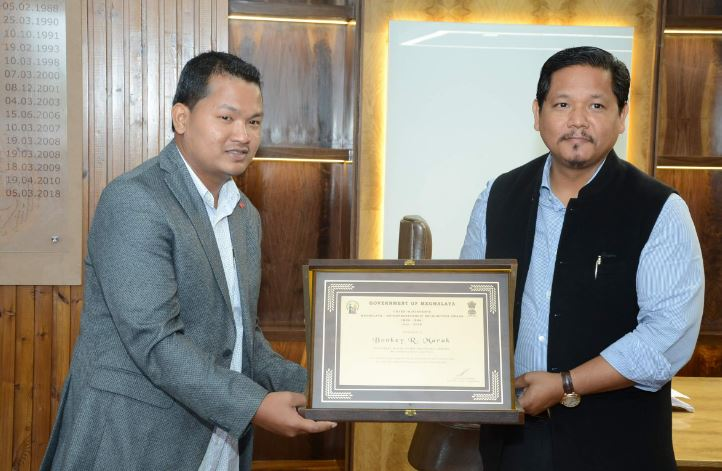 Recycling Efforts of Bonkey R Marak Must Be Emulated: Meghalaya CM Conrad K Sangma