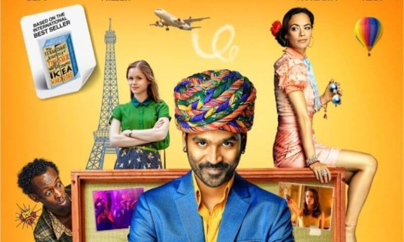 With The 'Extraordinary Journey of The Fakir' Trailer Out, Dhanush Begins His Crazy, Colourful Journey To Paris For His First International Film